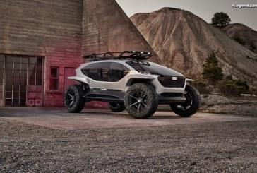 Audi AI:TRAIL quattro – Un concept de tout-terrain du futur