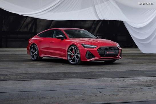 Nouvelle Audi RS 7 Sportback – 600 ch et 800 Nm avec un design innovant