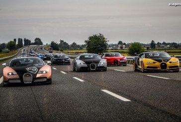 The Grand Tour 2019 – 23 Bugatti Veyron et Chiron sur la route – Étape 1 à Monaco