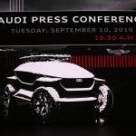 IAA 2019 – Live conférence de presse Audi à 10h30 le 10/09/19