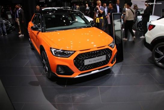 IAA 2019 – Première mondiale de l'Audi A1 citycarver edition one