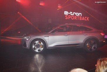 IAA 2019 – Avant-première mondiale de l'Audi e-tron Sportback
