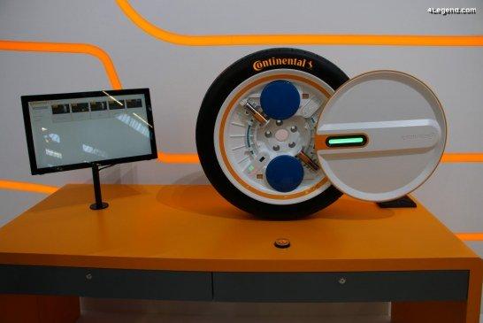 IAA 2019 – Continental Tires dévoile le système Conti C.A.R.E. pour la mobilité du futur