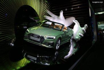 IAA 2019 – Des Audi A1 et A5 Cabriolet exposées de manière originale