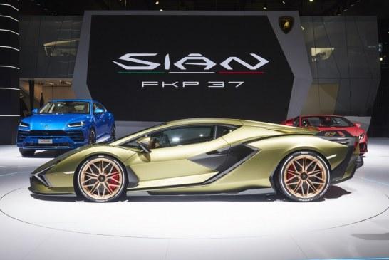 IAA 2019 – Lamborghini Sián FKP 37 : hommage à Ferdinand K. Piëch