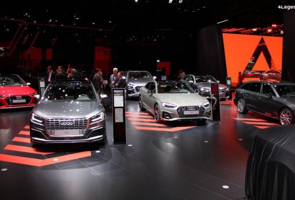 IAA 2019 – Exposition de nombreux modèles sportifs d'Audi avec quelques nouveautés