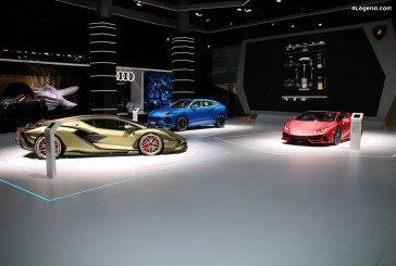 IAA 2019 – Modèles Lamborghini exposés sur le stand