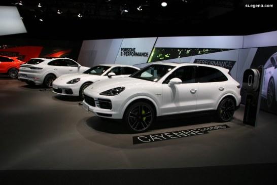 Rappel de Porsche Cayenne et Panamera pour un problème d'affichage d'usure de frein