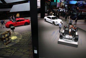 IAA 2019 – Découverte des Porsche Taycan Turbo et Taycan Turbo S