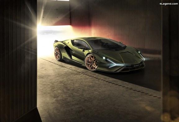 Lamborghini Sián – 63 exemplaires et un V12 hybride de 819 ch