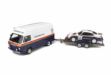 Miniatures 1:18 – Pack Rallye 1000 Pistes 1984 – Porsche 911 SC RS & VW LT40 par Ottomobile
