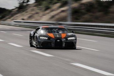 Bugatti dépasse la barrière des 490 km/h avec un prototype basé sur la Chiron