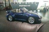 Miniature 1:18 Porsche 993 Turbo Cabriolet de 1995 - GT Spirit