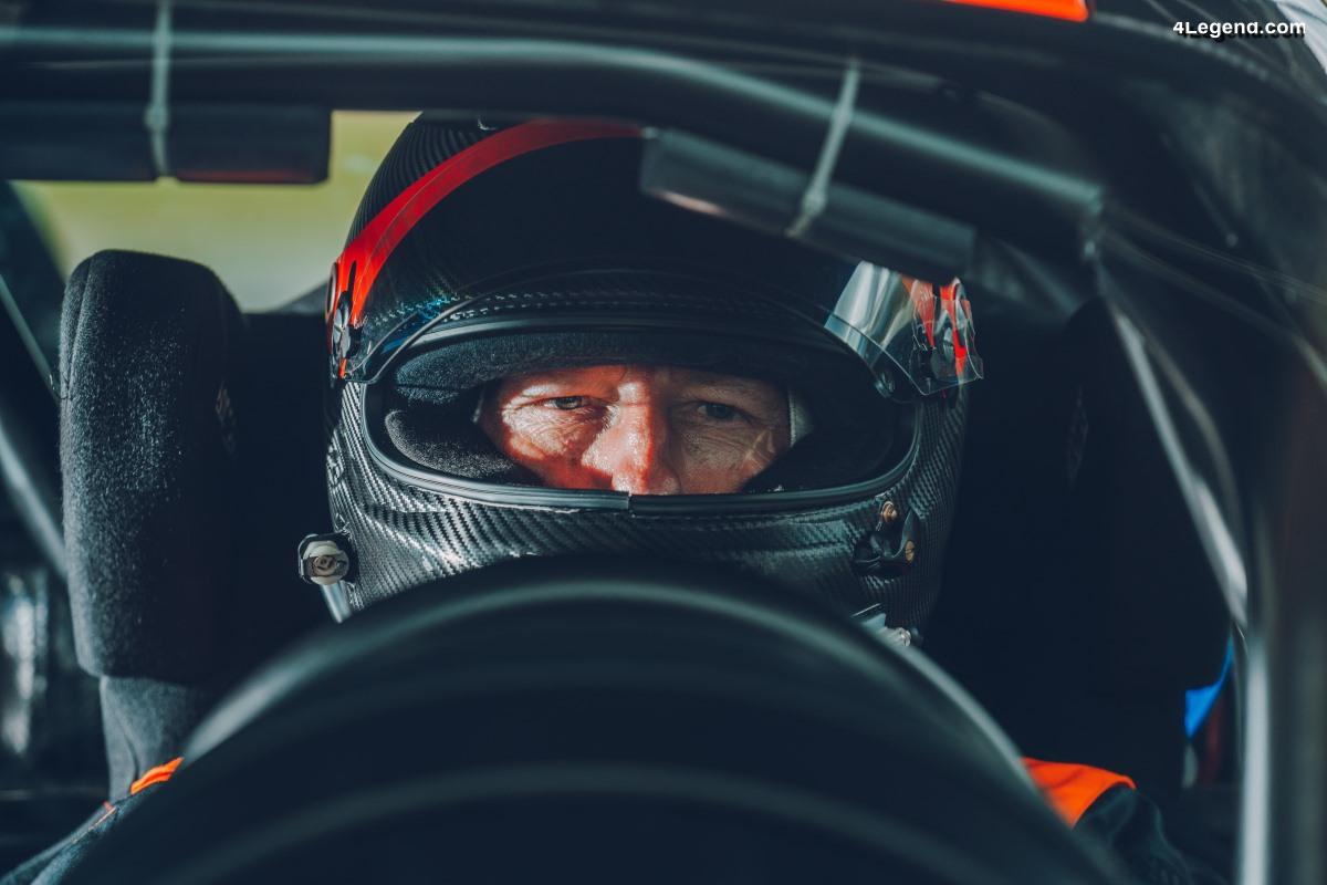 Andy Wallace - Pilote d'essai Bugatti : présentation de son job de rêve