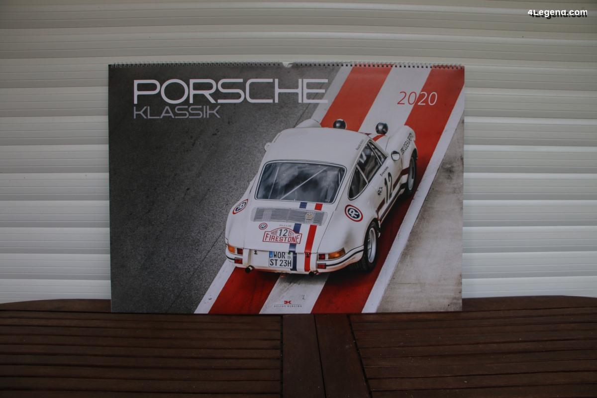 Calendrier Porsche Klassik 2020 - Delius Klasing