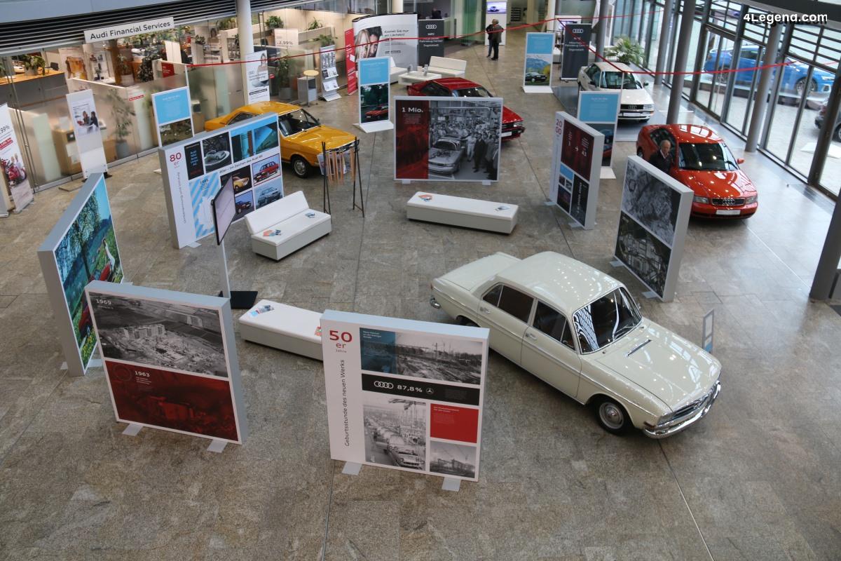 Trois expositions spéciales pour les 70 ans d'Audi à Ingolstadt - 1ère partie