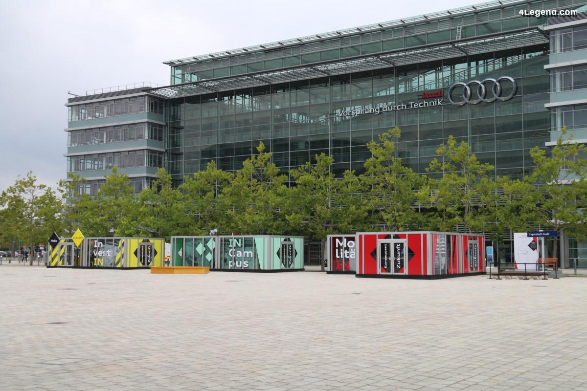 Exposition sur le futur d'Audi à Ingolstadt - 70 ans d'Audi à Ingolstadt - 3ème partie