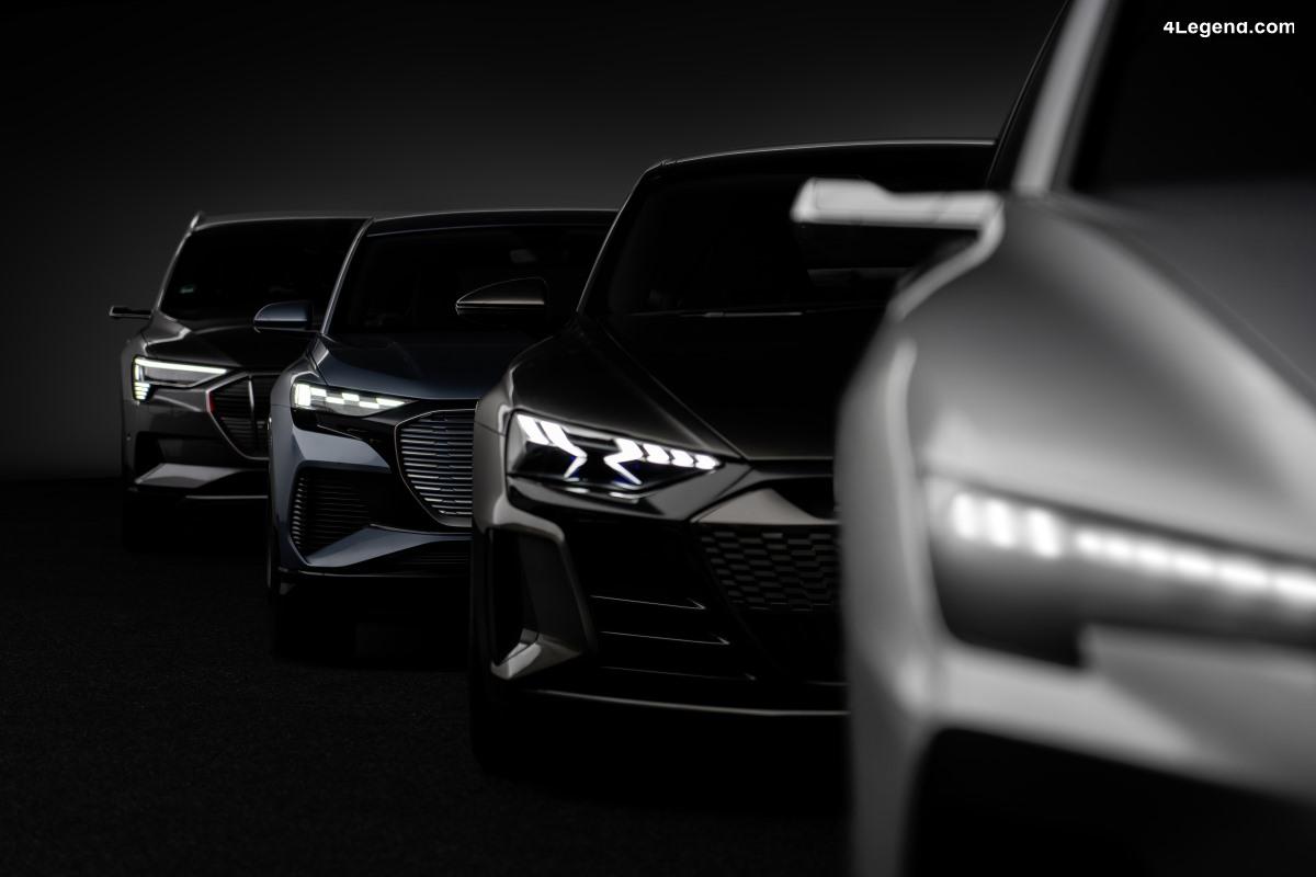 Audi dévoile sa feuille de route concernant la mobilité électrique