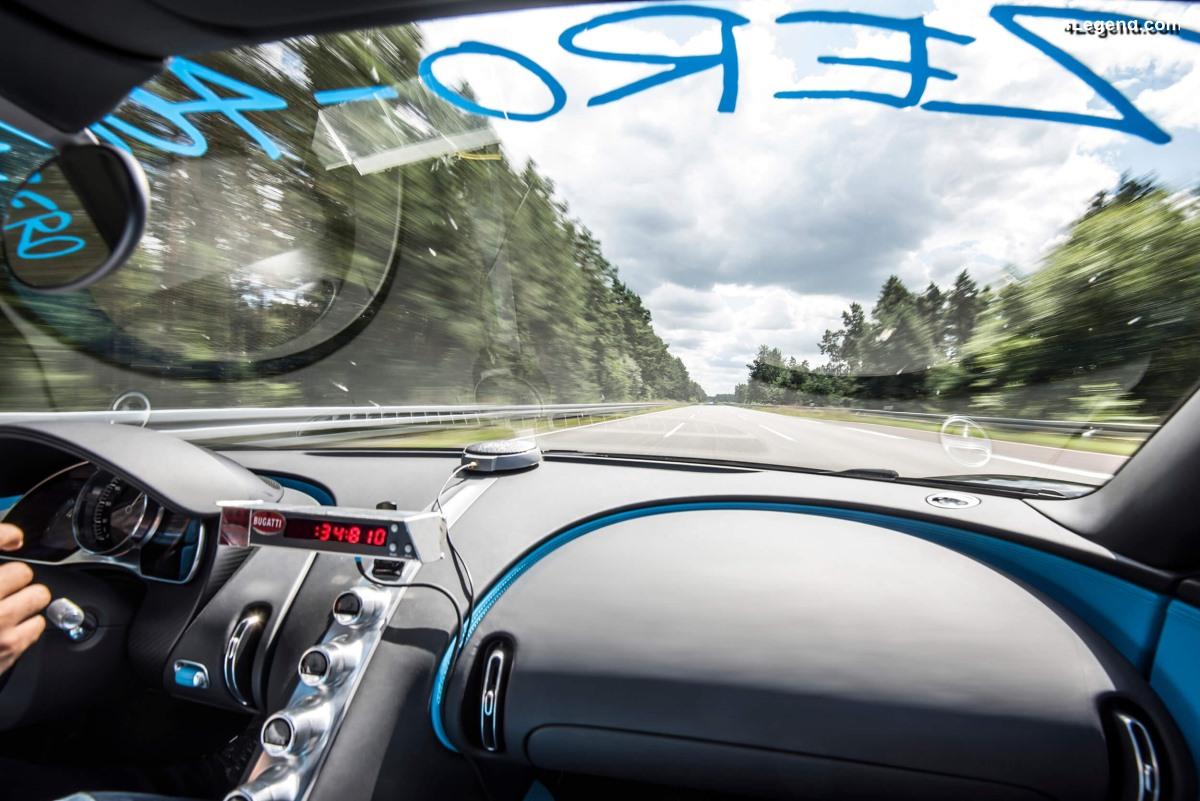 Bugatti : champion des records de vitesse et d'accélérations ses 30 dernières années