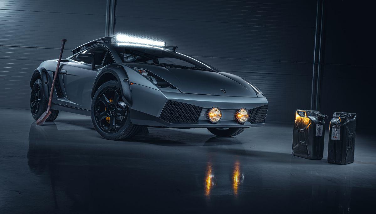 Lamborghini Gallardo Offroad - Un modèle unique à la Mad Max