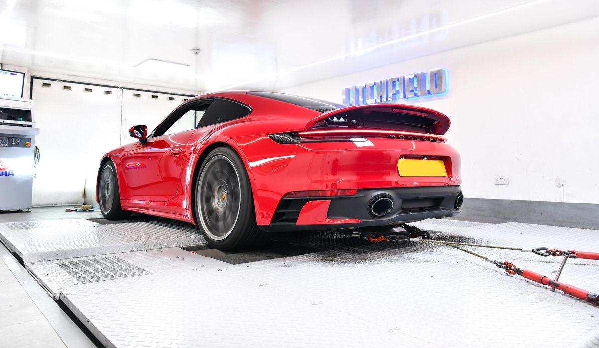 Porsche 911 Carrera de 580 ch par Litchfield - Aussi bien qu'une 991 Turbo S