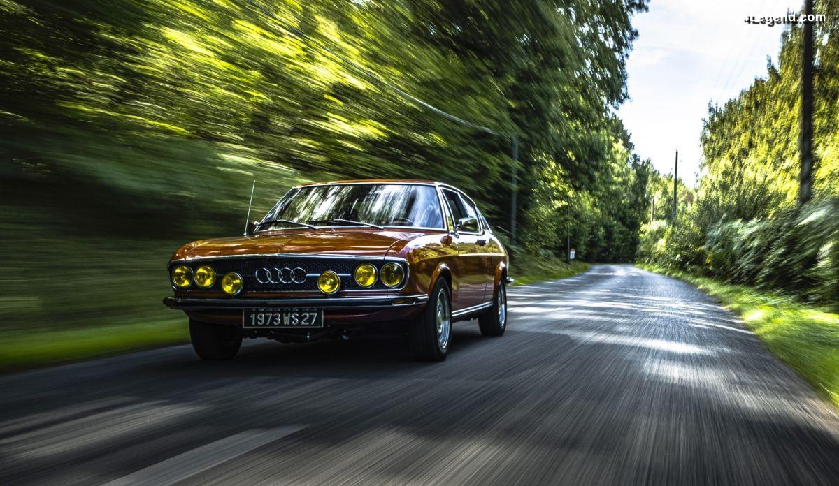 Audi 100 Coupé S de 1973 - Portrait d'un passionné français