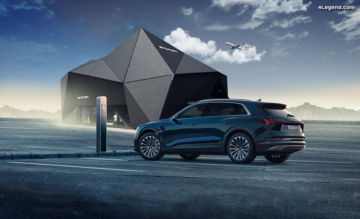 Audi électrifie Munich : nouveau service gratuit de recharge, de stationnement et de navette à l'aéroport