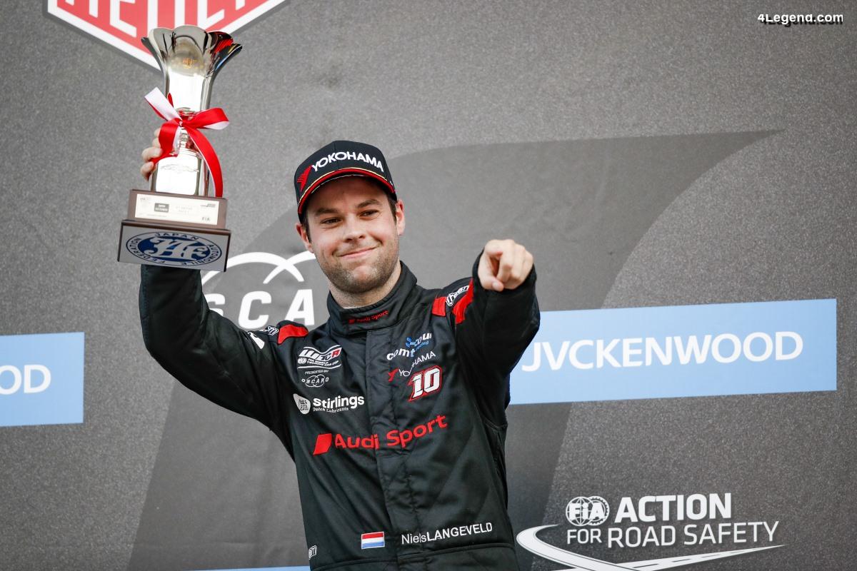 WTCR - Premier podium pour le pilote Audi Sport Niels Langeveld