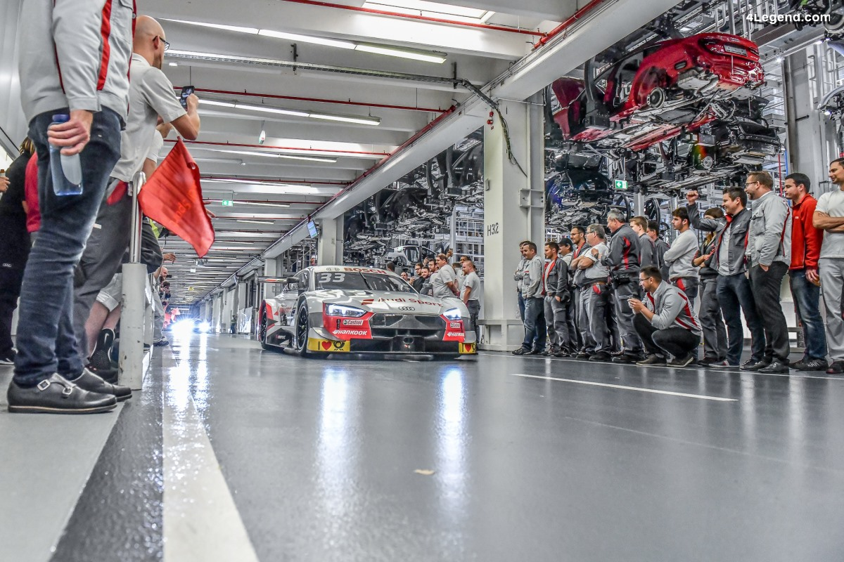 Anecdotes - De nombreux records pour Audi en DTM en 2019