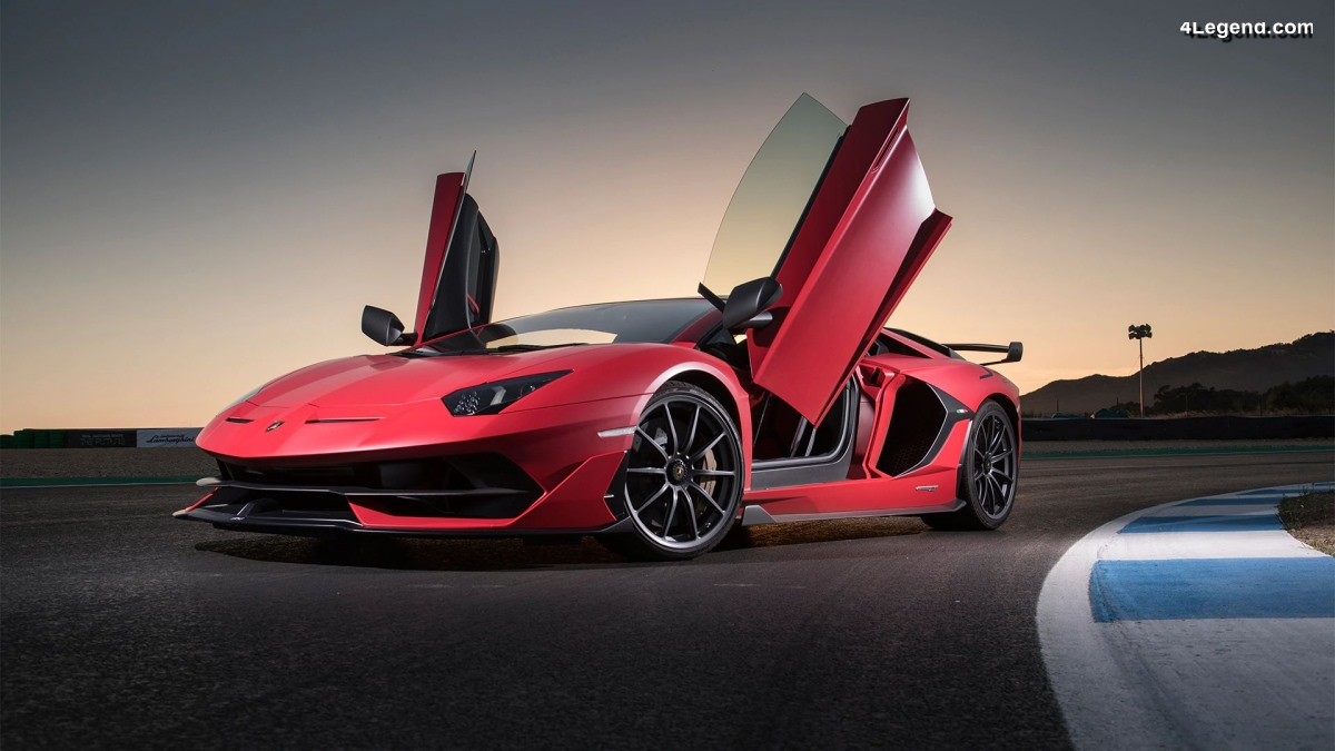 Anecdote - Histoire des portes en ciseaux des modèles Lamborghini