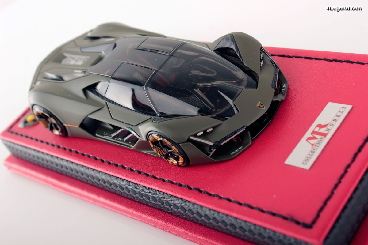 Miniature MR Collection 1:43 - Lamborghini Terzo Millennio Verde Turbine limitée à 19 exemplaires