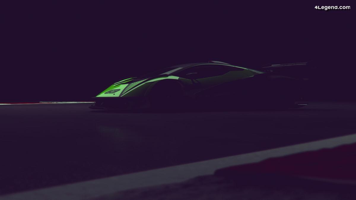 Avant-première mondiale de la Lamborghini Aventador SVR à Jerez