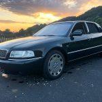 Audi A8 L W12 de 2001 ayant appartenu à Johnny Hallyday