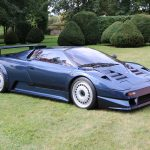 Bugatti A35 02 de 1990 – Le second prototype de l'EB110