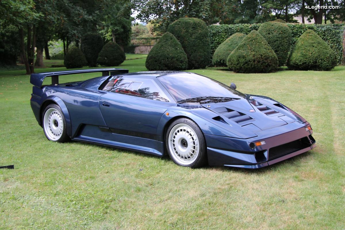 Bugatti A35 02 de 1990 - Le second prototype de l'EB110