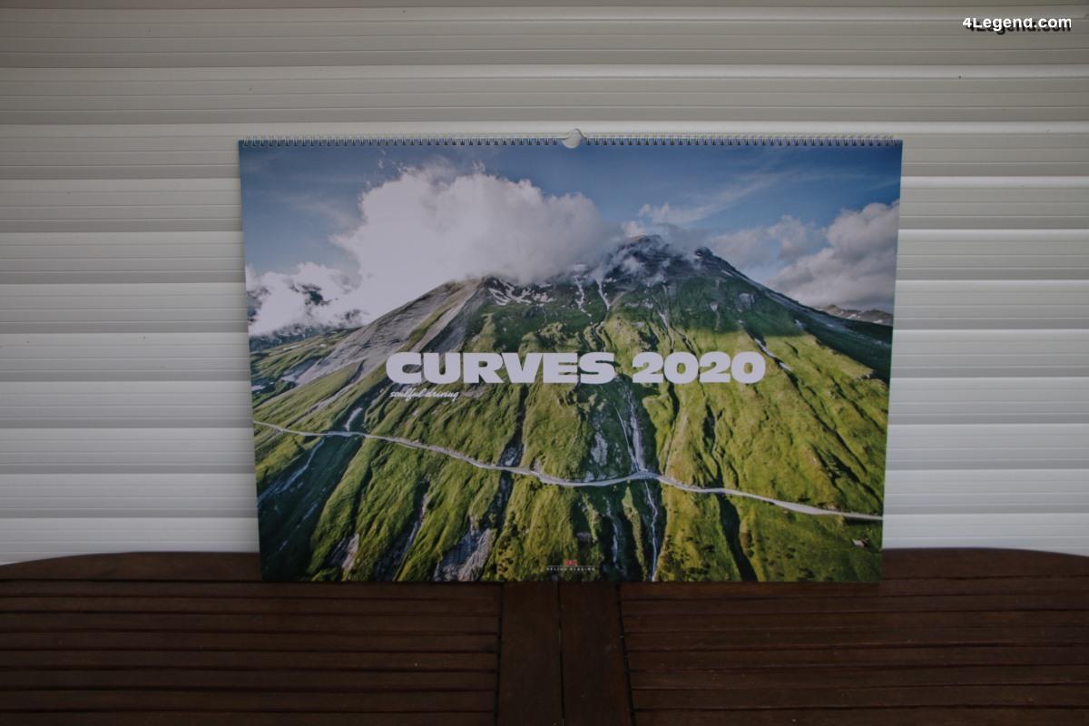 Calendrier Curves 2020 de Stefan Bogner – Delius Klasing