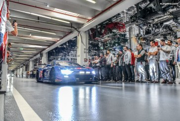 Audi Sport célèbre avec les employés d'Audi à Ingolstadt la victoire en DTM et en GT