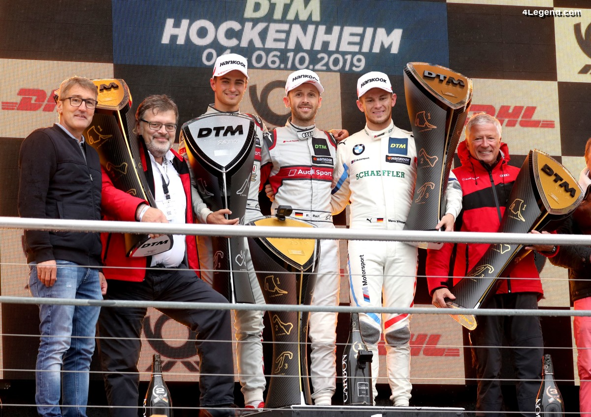 DTM - Audi couronne sa saison la plus réussie par un triple triomphe à Hockenheim