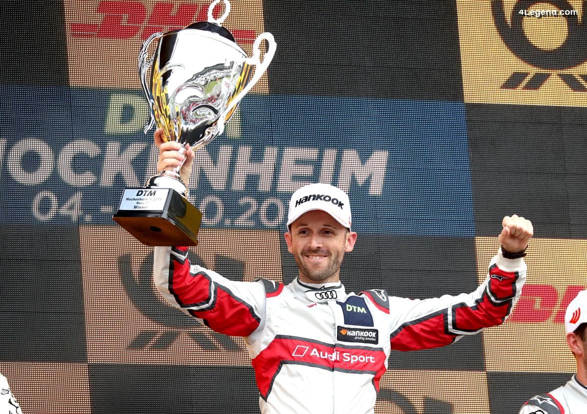 DTM - Septième victoire de la saison pour le pilote Audi - René Rast