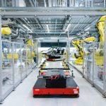 Fabrication de la Porsche Taycan en vidéo