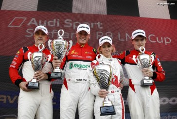 Robin Rogalski remporte l'Audi Sport Seyffarth R8 LMS Cup