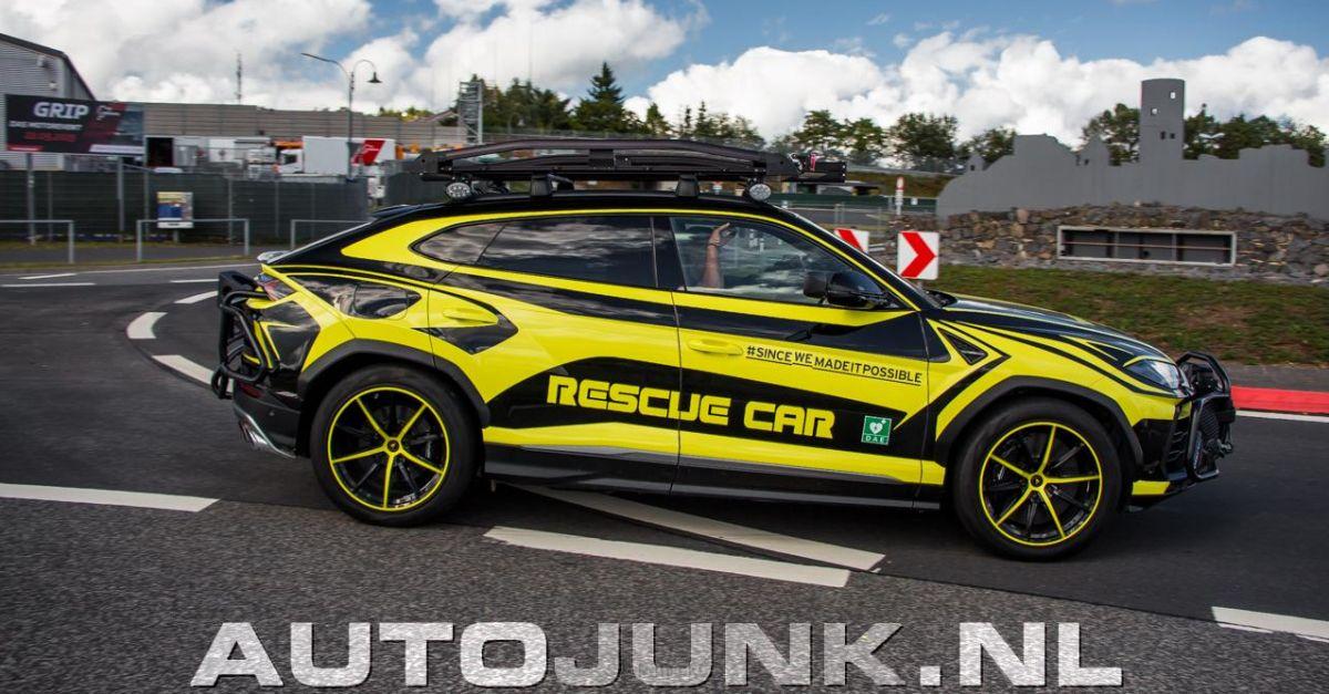 Lamborghini Urus Rescue Car - Quésaco?