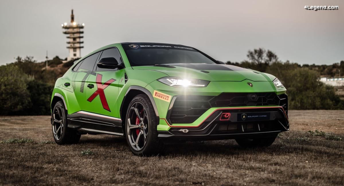 Avant-première mondiale du Lamborghini Urus ST-X à Jerez