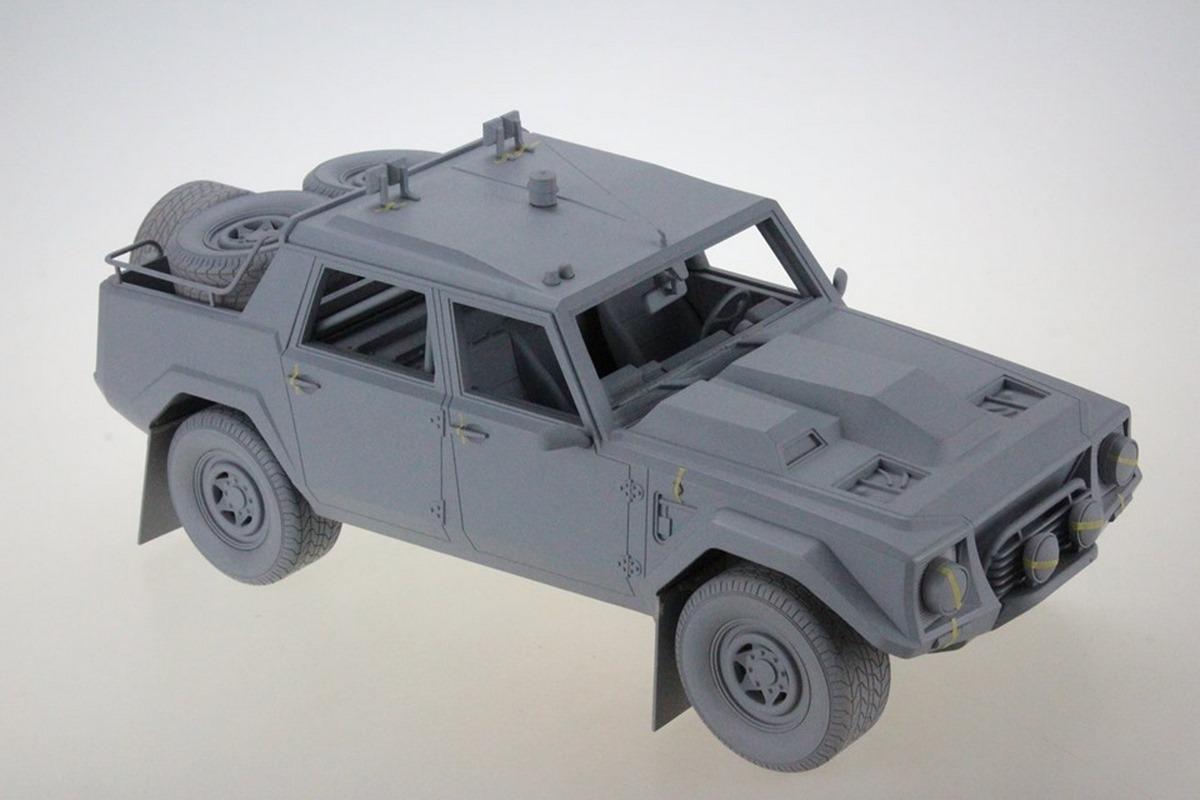 Miniature 1:18 Lamborghini LM002 Paris-Dakar 1988 - Top Marques