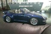 Miniature 1:18 Porsche 993 Turbo Cabriolet de 1995 – GT Spirit