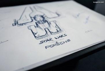 Partenariat entre Porsche et Lucasfilm afin de concevoir un vaisseau Star Wars