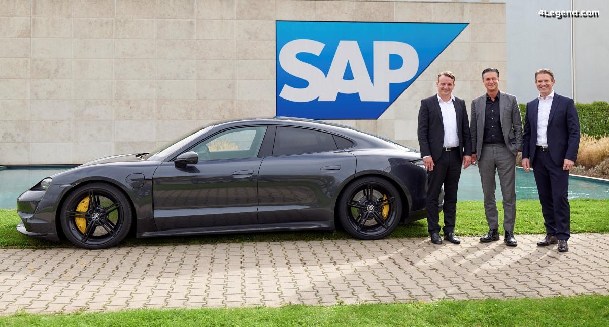 Partenariat stratégique entre Porsche et SAP