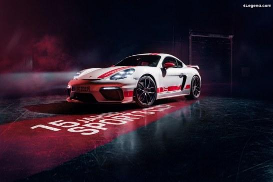 Porsche 718 Cayman GT4 Sports Cup Edition – Un modèle sportif exclusif