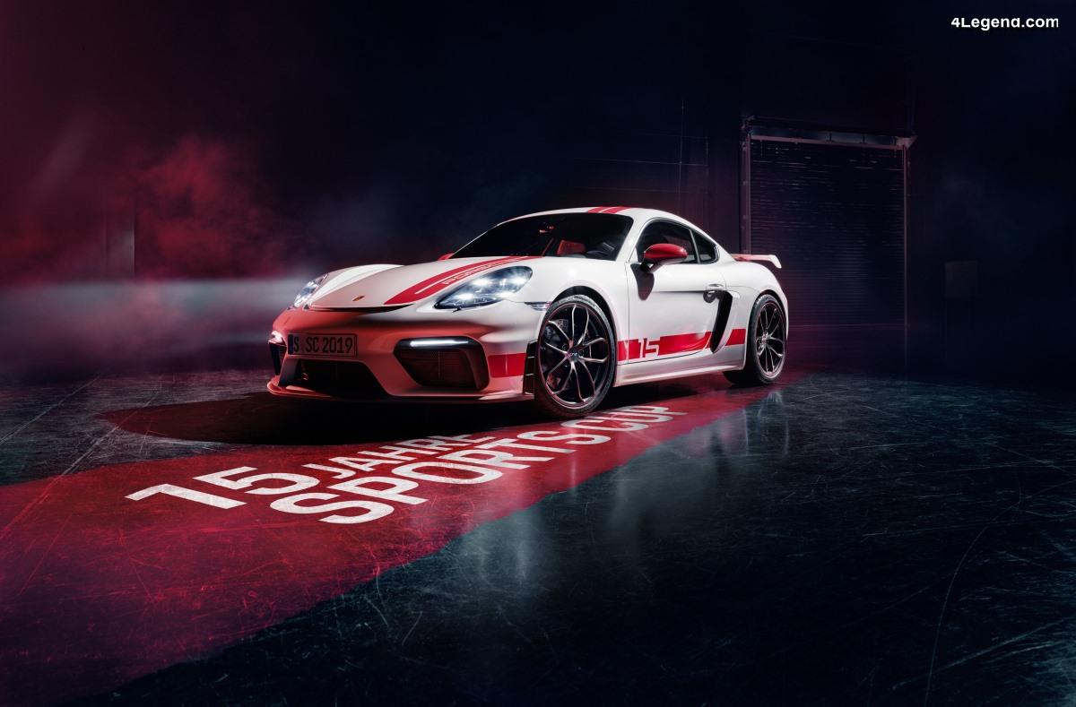 Porsche 718 Cayman GT4 Sports Cup Edition - Un modèle sportif exclusif