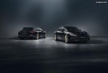 Porsche Panamera 10 Years Edition – Une édition spéciale anniversaire